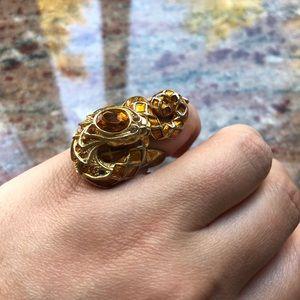 Roberto Cavalli Snake Ring - Size 6.5